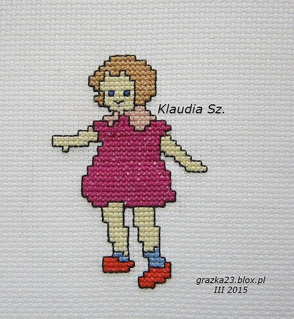 dziewczynka Klaudii