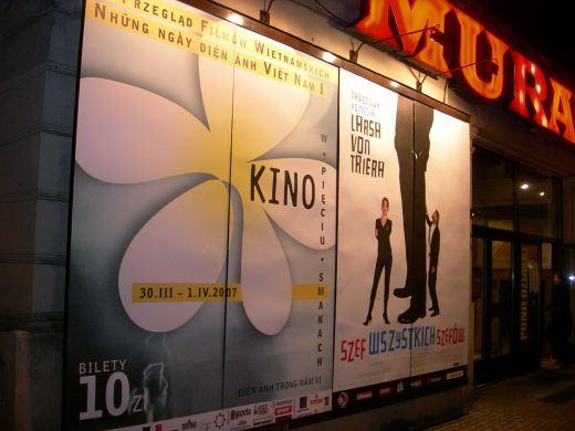 Kino wietnamskie w Muranowie