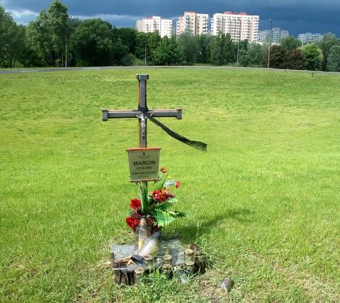 krzyż - Dolina Służewiecka