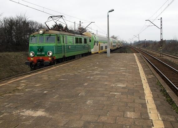 Warszawa Dawidy - pociąg