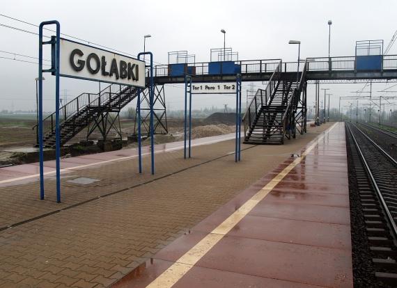 Gołąbki - stacja kolejowa