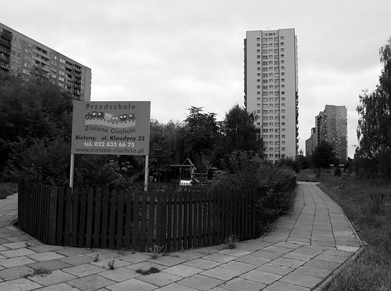 blokowisko na warszawskich Bielanach