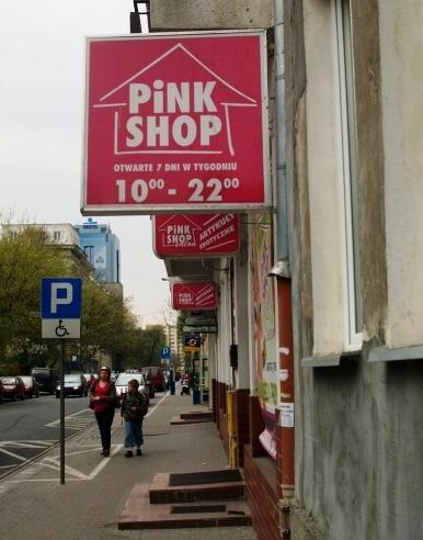 pink shop - warszawa, ul.chmielna