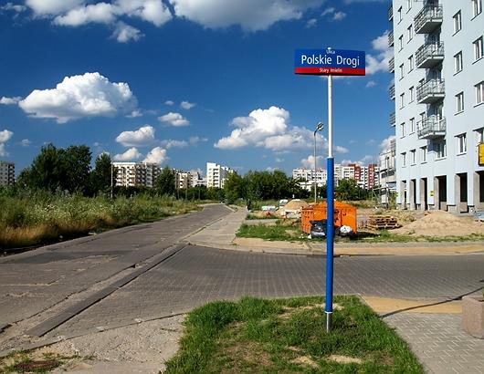 street in Poland