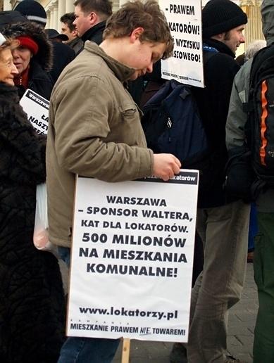 warszawa - protest lolatorów
