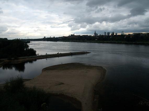 Wisła - widok z Mostu Gdańskiego
