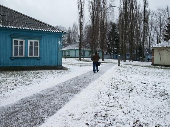 Osiedle Przyjaźń zimą