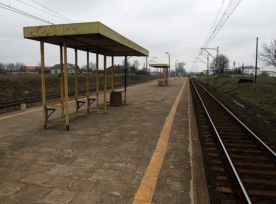 stacja kolejowa Warszawa Dawidy