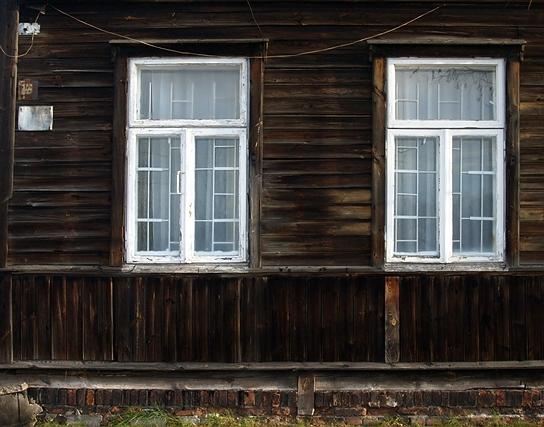 drewniak na Targówku