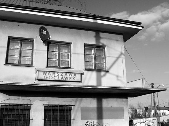 Warszawa Gocławek - budynek stacji