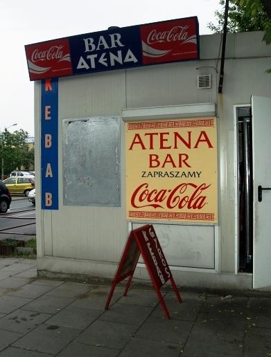 bar Atena - Praga-Południe