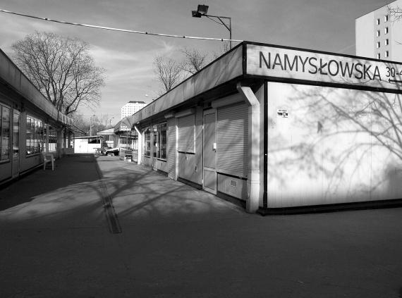 Namysłowska - bazar