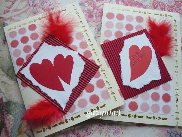 kartka dla męża i córeczki:)