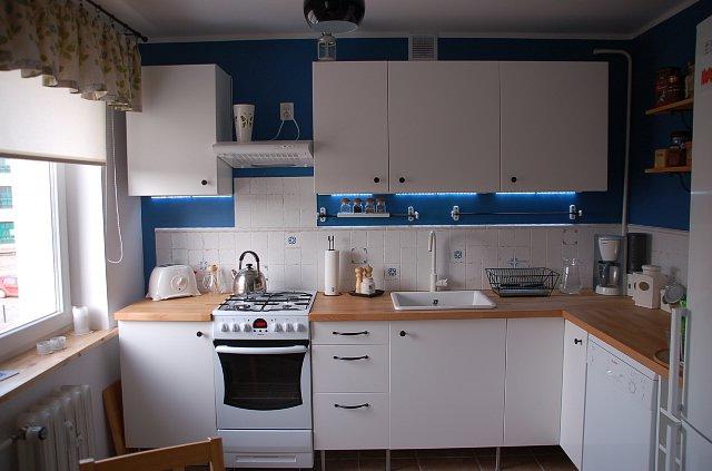 Biała kuchnia  Ikea  Wystarczająco Dobra Pani Domu   -> Kuchnia Kremowa Ikea
