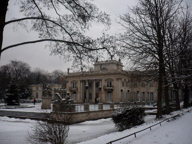 łazienki Królewskie Zima Zdjęcia Na Fotoforum Gazetapl