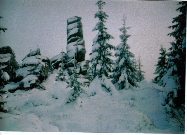 Wieża-Hutniczy Grzbiet Karkonosze