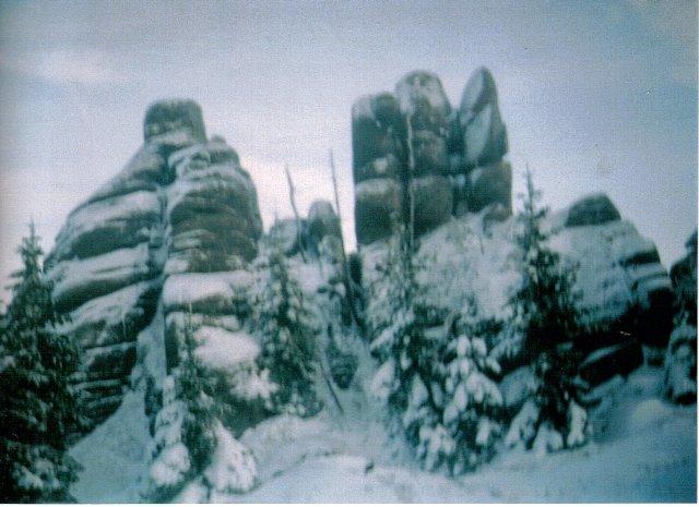 Zamczysko i Trzy Palce-Hutniczy Grzbiet Karkonosze