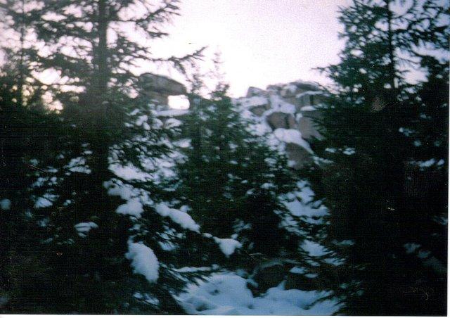 Okno Skalne-Hutniczy Grzbiet Karkonosze