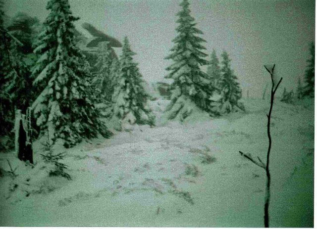 Zima na Hutniczym Grzbiecie