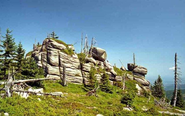 Bunkry skalne-Hutniczy Grzbiet Karkonosze