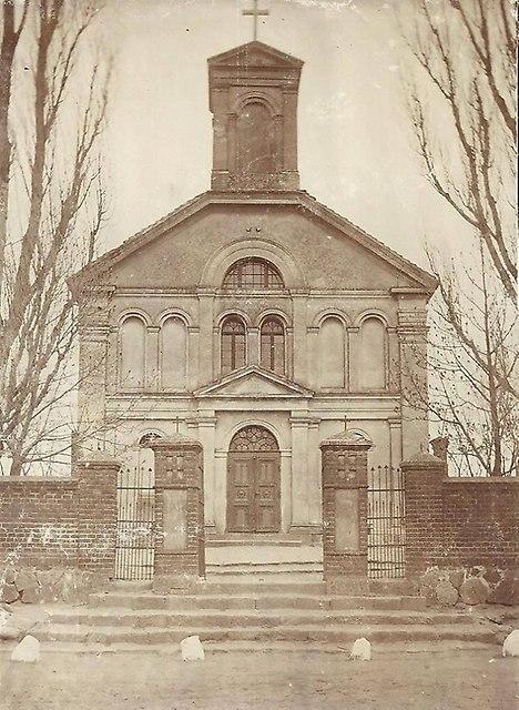 Kościół w Świerczynie z 1945 roku