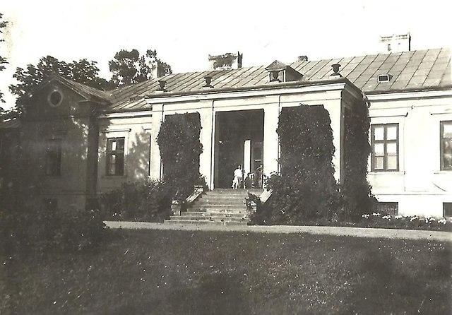 Pałac w Świerczynie przed wojną