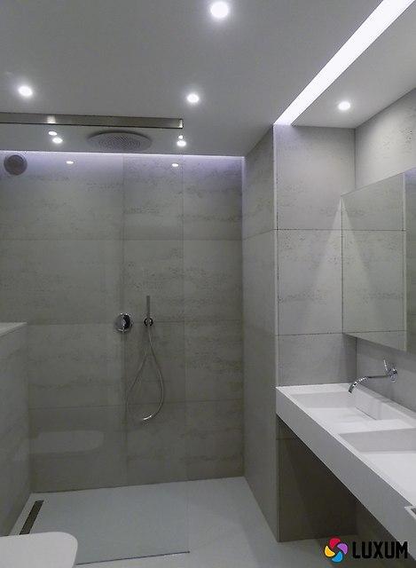 Beton Architektoniczny W łazience Nowoczesne łazienki W Stylu