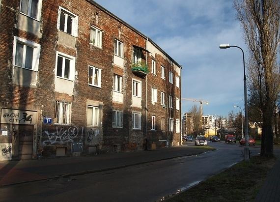 Warszawa - Targówek, ul.Gościeradowska