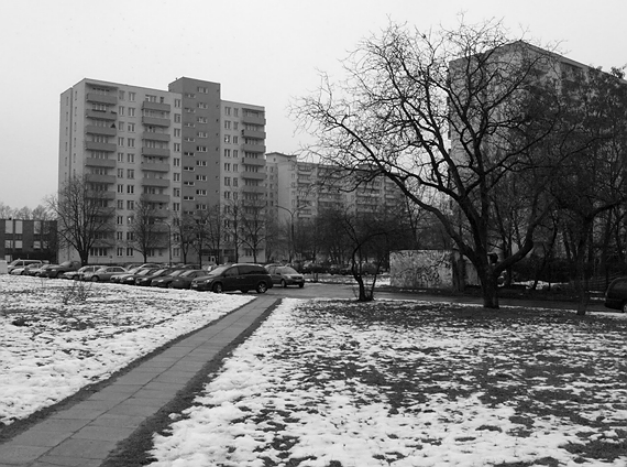 Warszawa, osiedle Br�dno