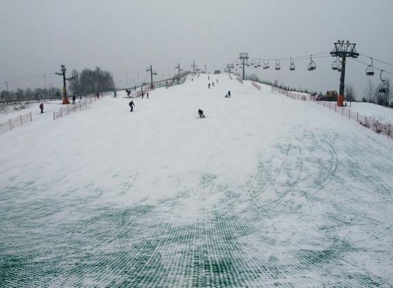 Szczęśliwice - wyciąg narciarski