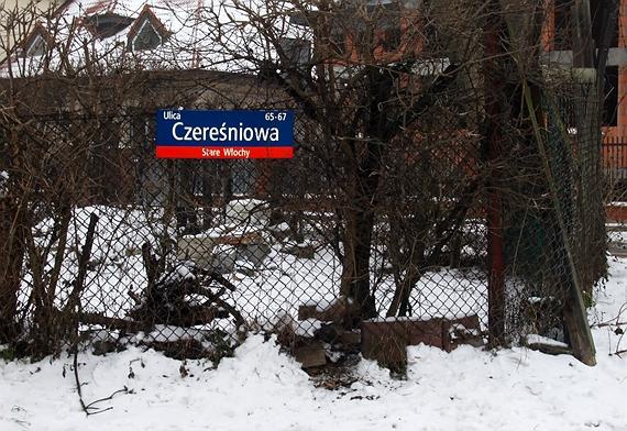 Włochy - Czereśniowa