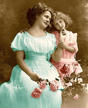 dama i dziecko