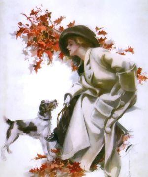 dama jesienna