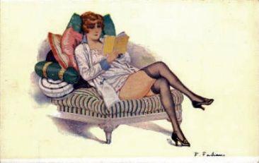 dama na kanapie