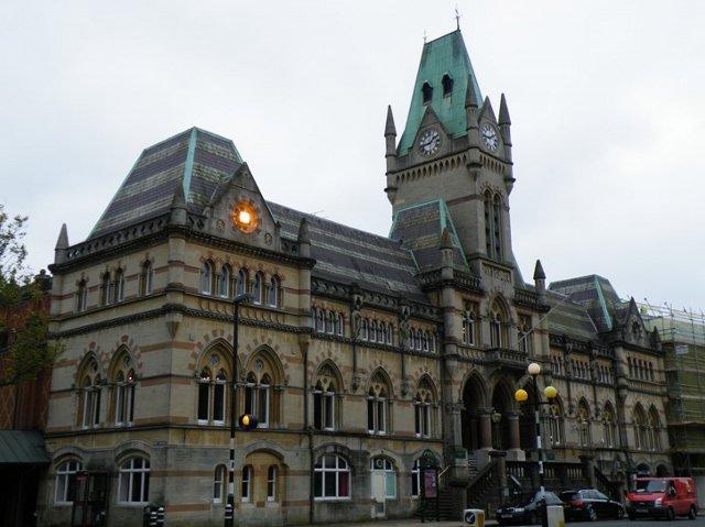 guildhall, ratusz, winchester, neogotyk