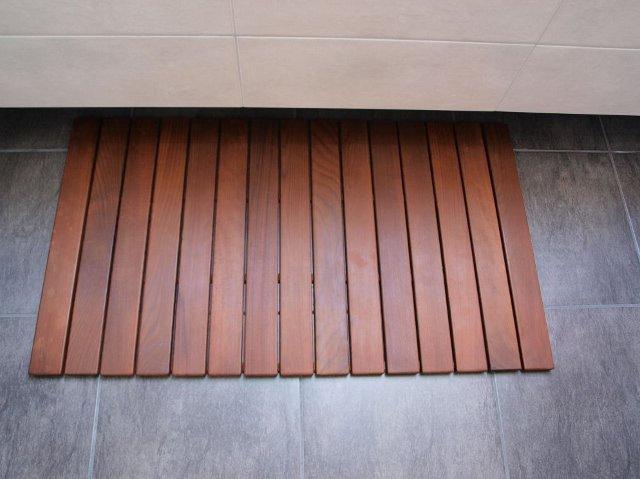 Drewniana Mata Do łazienki Wnętrza Forummuratordompl