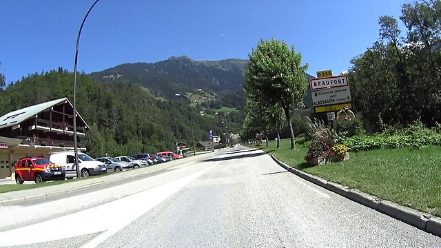 Beaufort wjazd do miasta