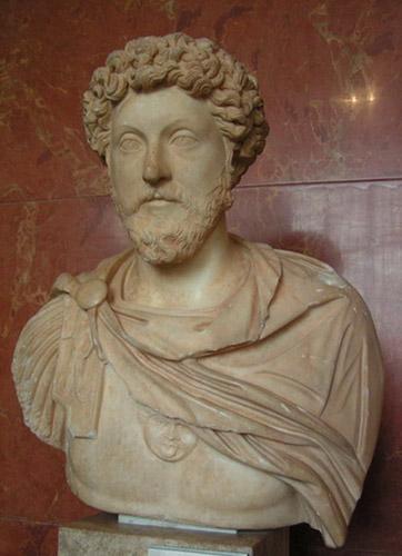 Marek Aureliusz, Luwr