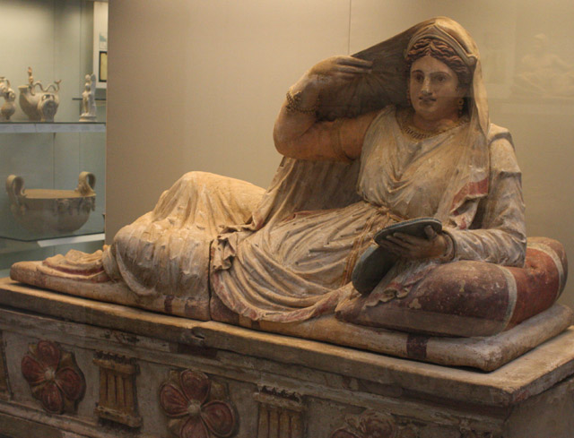 Etruskowie - sarkofag