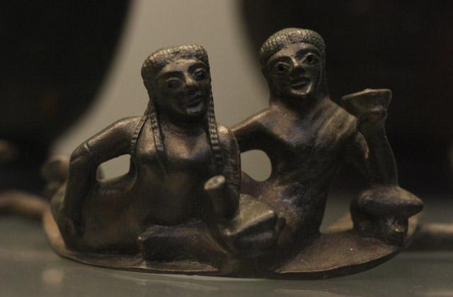 Etruskowie - uczta