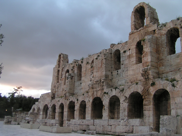 Ateny, Odeon Herodosa Atticusa