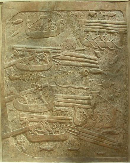 Asyria - transport wodny