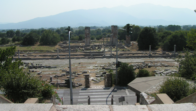 Panorama agory rzymskiej
