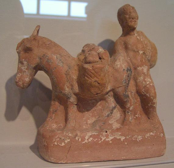 Sprzedawca jarzyn z osiołkiem, Muzeum Archeologiczne w Thessalonice