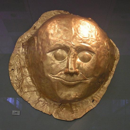 Złota maska z Myken