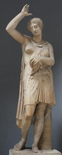 Kopia rzymska uważana za wzorowaną na rzeźbie Polikleta. Muzea Watykańskie, Rzym.