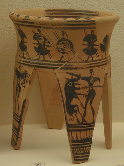 Herakles z lwem