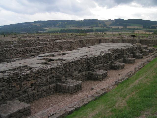 Umocnienia na Murze Hadriana, północna Anglia