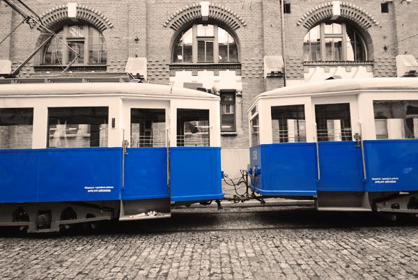 Zabytkowy tramwaj MPK Kraków
