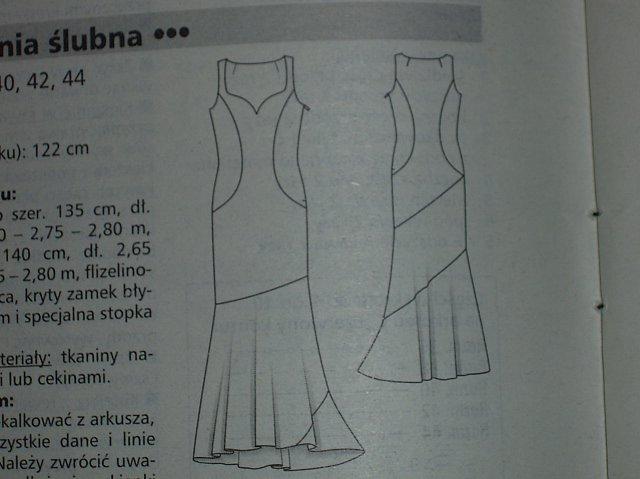 46caff1a6d Przy okazji rysunek sukienki ze zdjęcia